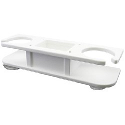 2-Drink Holder w/Storage
