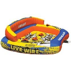 """Live Wire 3, 3-Rider, 76"""" x..."""