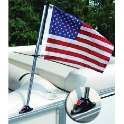 "Pontoon Flag Pole Kit w/24""..."