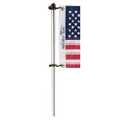 "36"" Flag Pole w/Clips"