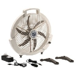 Rechargeable Fan, 12V/110V...