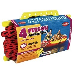 4-Rider Tube Tow Rope, 60'