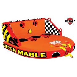 "Super Mable, 3-Rider, 75"" x..."