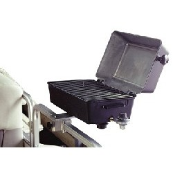 Barbeque Grill, Rail Mount