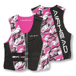 Large NeoLite Vest, Pink Camo
