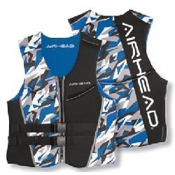 Large NeoLite Vest, Blue Camo