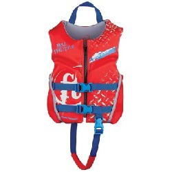 """Child 20-25"""", 30-50 lbs, Red"""