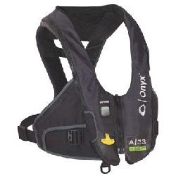 Auto Inflatable Vest, Gray,...