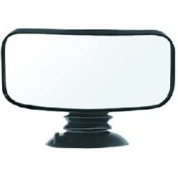 "4"" x 8"" Suction Cup Mirror"