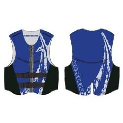 2XL NeoLite Vest, Blue