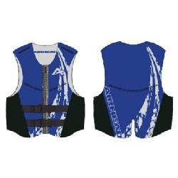 XL NeoLite Vest, Blue