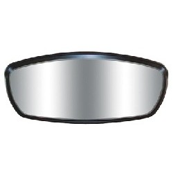 Wave Mirror Head Only, Black